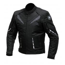 Pánská textilní moto bunda Cyber Gear Strada černá