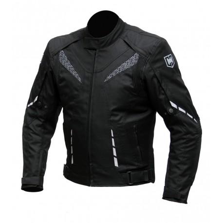Pánská textilní bunda Cyber Gear Strada černá - 2XL