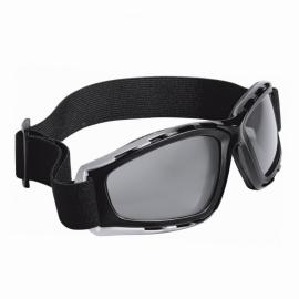 Motocyklové brýle Held kouřové, černo-stříbrný rám