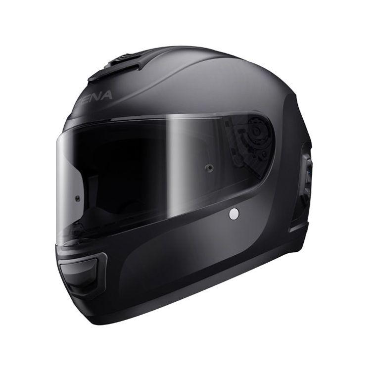 Moto helma Sena Smart Momentum Lite Matte Black