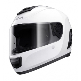 Momentum Lite, Bluetooth Helmet, Full Face, Glossy White, L