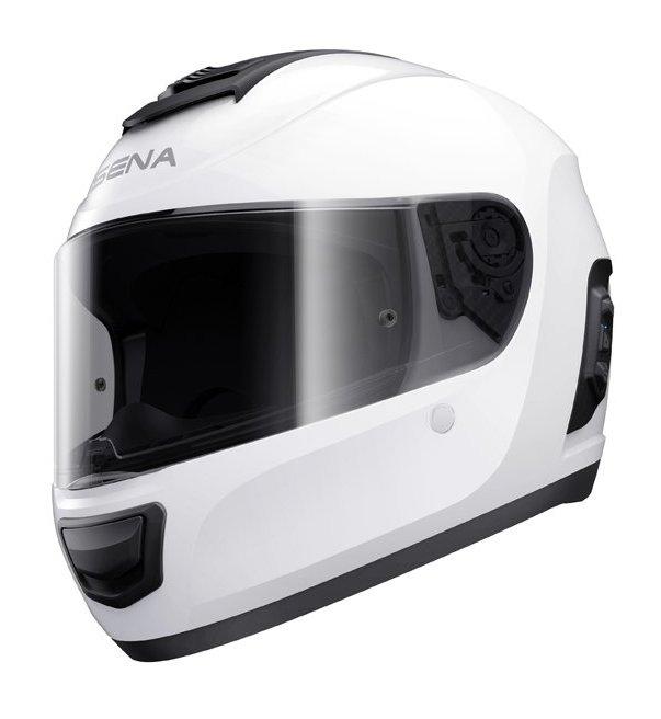 Moto helma Sena Smart Momentum Lite Gloss White