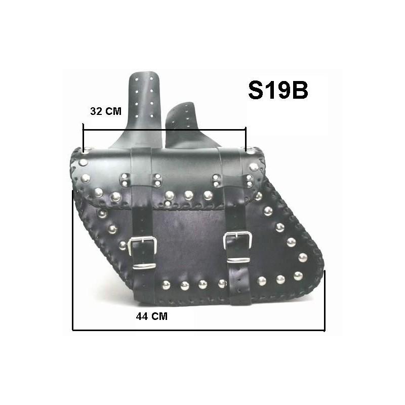 Kožené moto brašny TechStar Eagle se zdobením - GlobalMoto.cz 2867b3ffde
