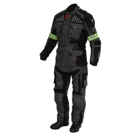 Pánská textilní moto bunda Spark GT Turismo tmavá