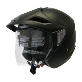 Moto helma Cyber U-388, černá matná