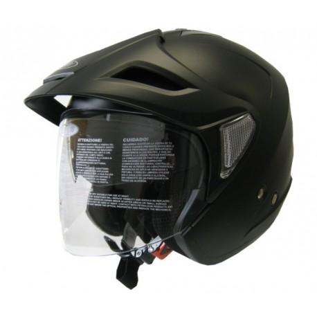 Moto helma Cyber U-388 černá matná