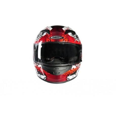 Moto helma Cyber US-97 červená