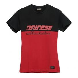 Dámské triko Dainese DUNES LADY (Settantadue) červená/antracit