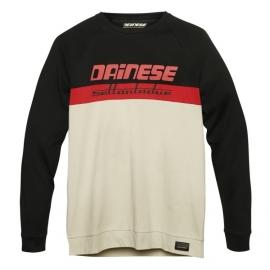 Pánské triko s dlouhým rukávem Dainese DUNES (Settantadue) šedá/červená