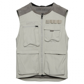 Pánská enduro vesta Dainese DJADO (Settantadue) vel.50 šedá, textilní