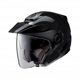 Moto helma Nolan N40-5 Classic N-Com Glossy Black 3