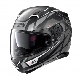 Moto helma Nolan N87 Originality N-Com Flat Black 68