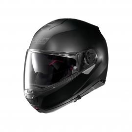 Moto helma Nolan N100-5 Classic N-Com Flat Black 10 M - poškrábaná