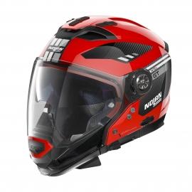 Moto helma Nolan N70-2 GT Bellavista N-Com Corsa Red 25