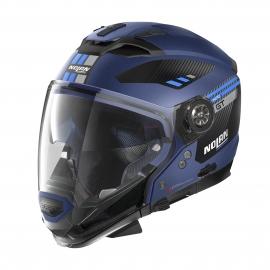 Moto helma Nolan N70-2 GT Bellavista N-Com Flat Imperator Blue 27