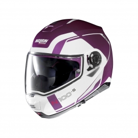 Moto helma Nolan N100-5 Consistency N-Com Fuchsia Kiss 25