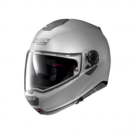 Moto helma Nolan N100-5 Special N-Com Salt Silver 11