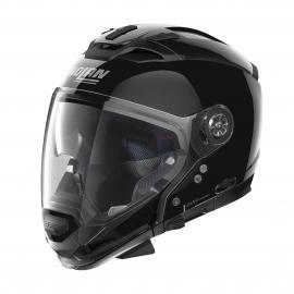 Moto helma Nolan N70-2 GT Classic N-Com Glossy Black 3