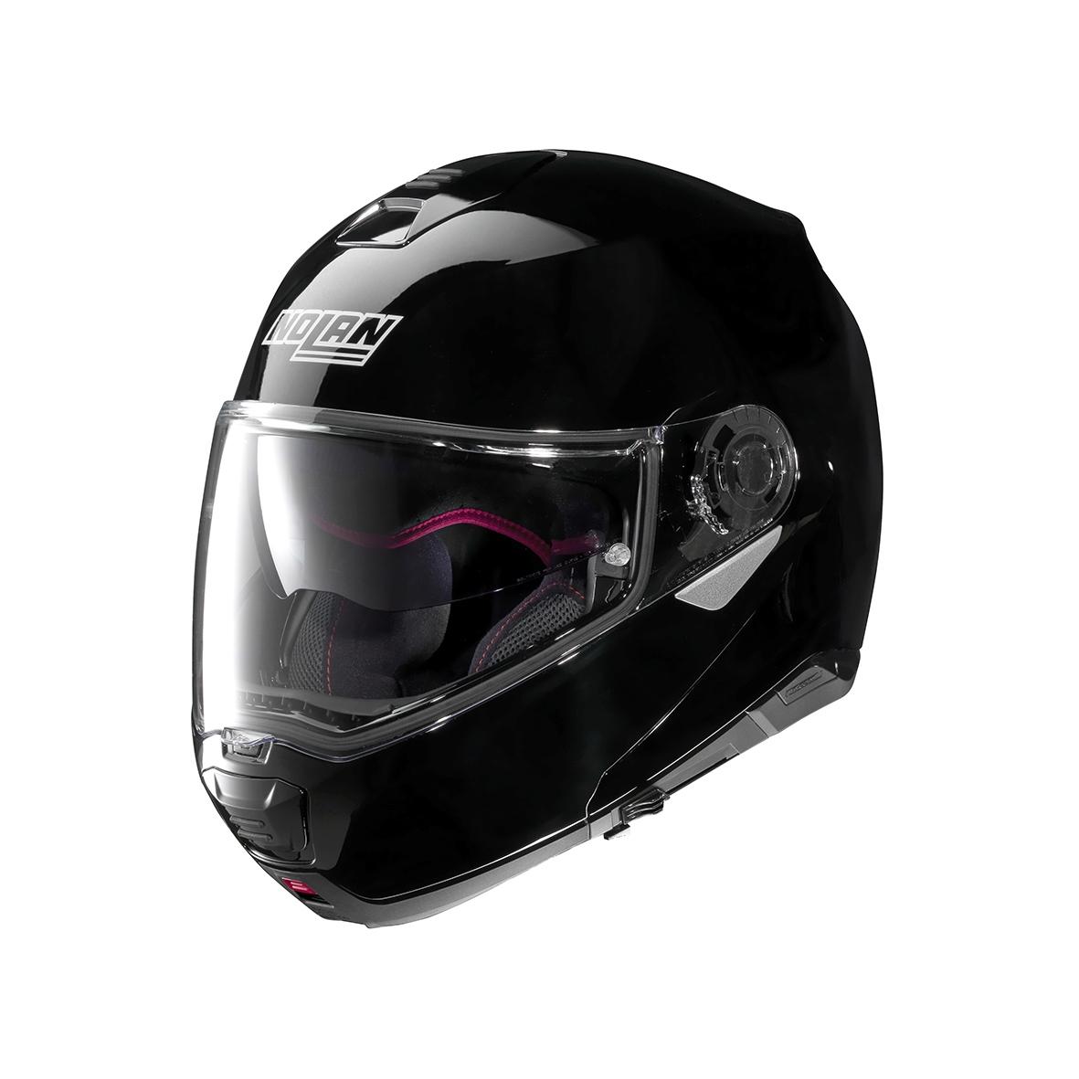 Moto helma Nolan N100-5 Classic N-Com Glossy Black 3