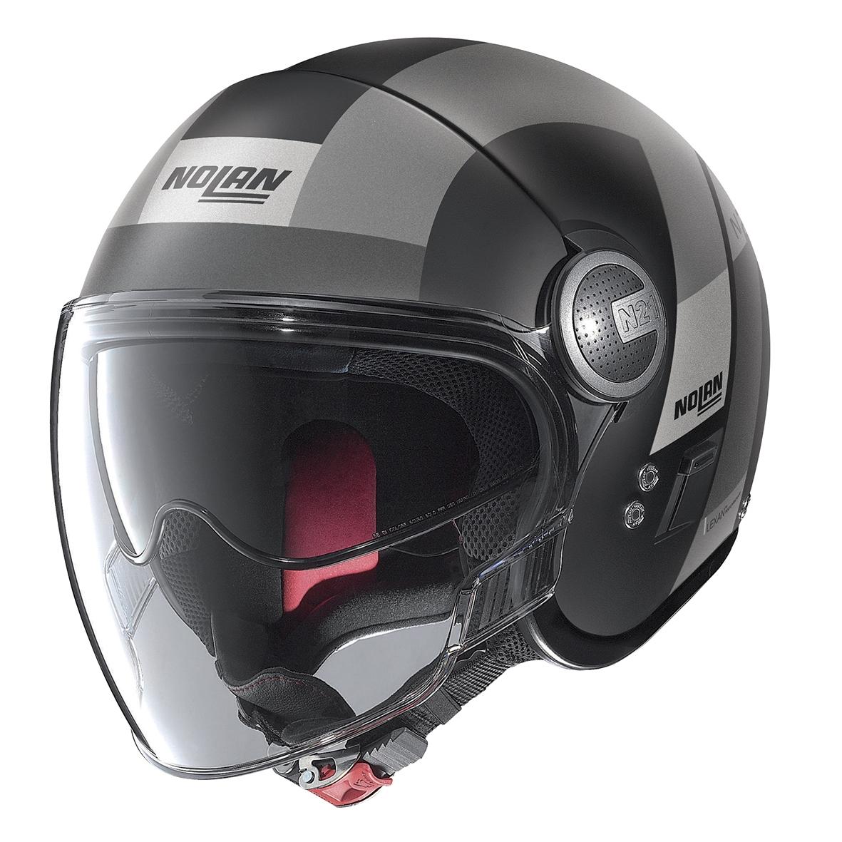 Moto helma Nolan N21 Visor Spheroid Flat Black 48