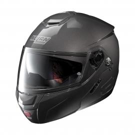 Moto helma Nolan N90-2 Classic N-Com Lava Grey 4