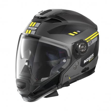 Moto helma Nolan N70-2 GT Bellavista N-Com Flat Lava Grey 20