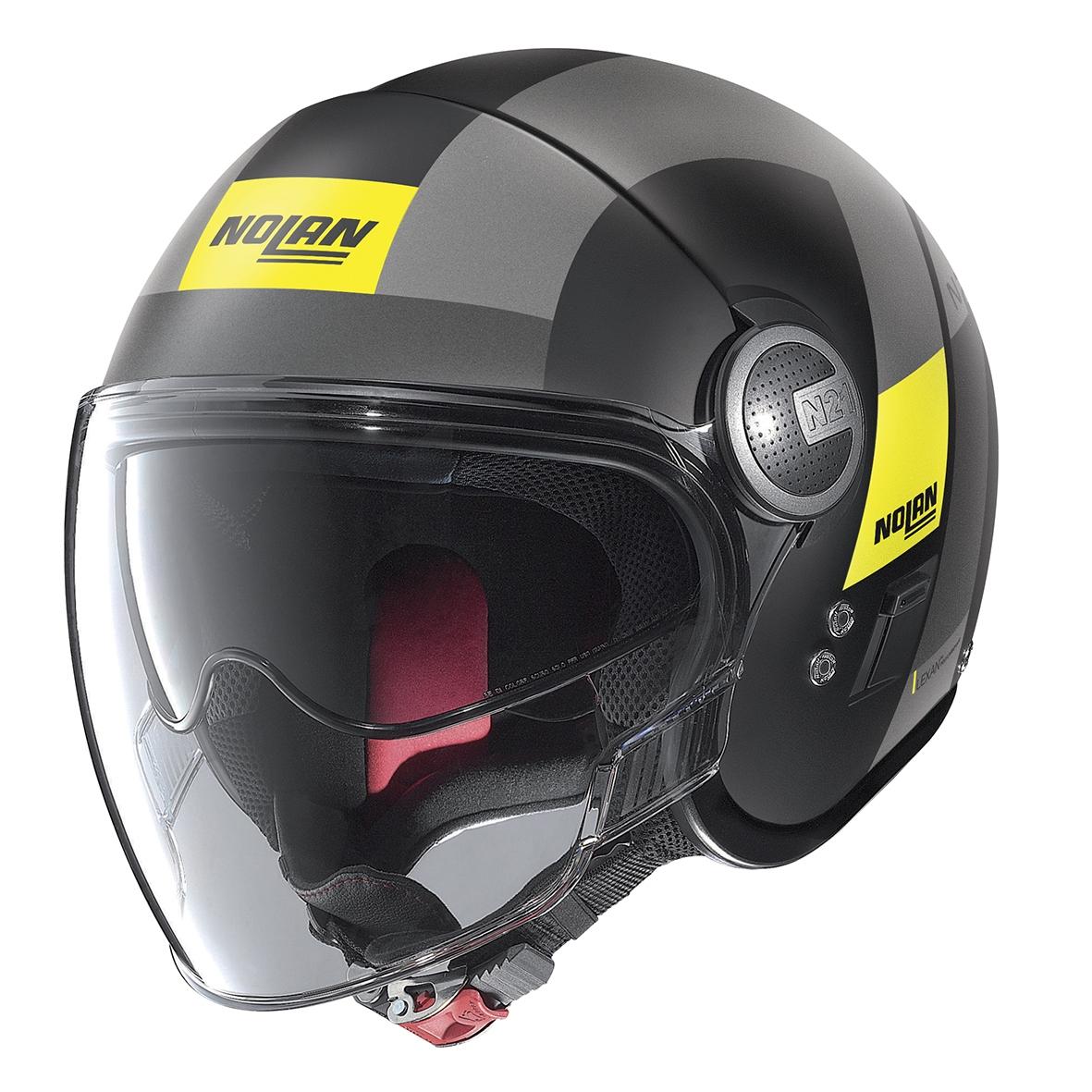 Moto helma Nolan N21 Visor Spheroid Flat Black 49