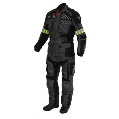 Pánské textilní moto kalhoty Spark GT Turismo, tmavé
