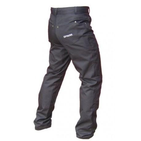 Pánské textilní moto kalhoty Spark Jeans, černé