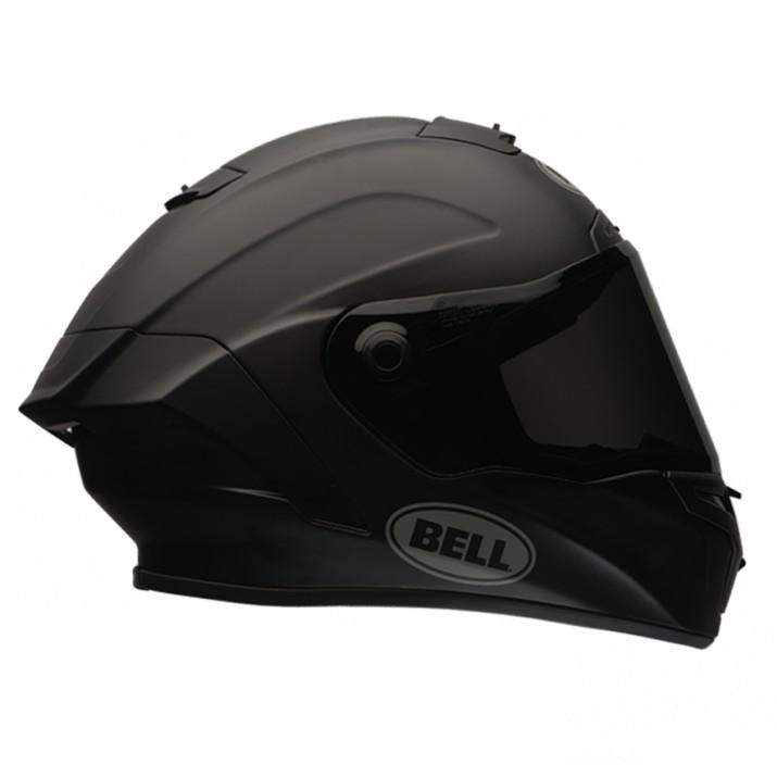 Moto helma Bell Star Solid Matte Black
