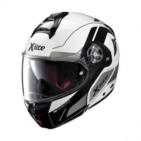 Moto helma X-Lite X-1004 Charismatic N-Com Glossy White 24