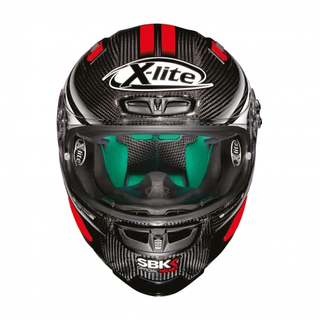 Moto helma X-Lite X-803 Ultra Carbon SBK 17