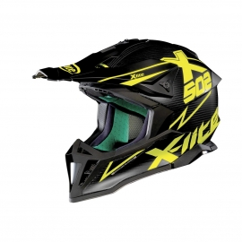 Moto helma X-Lite X-502 Ultra Carbon Matris Flat Carbon 10