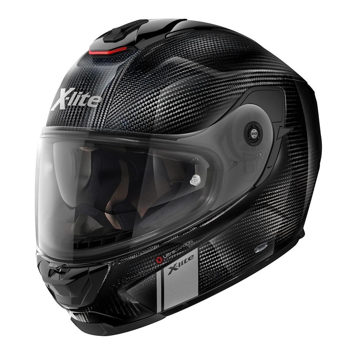 Moto helma X-Lite X-903 Ultra Carbon Modern Class N-Com Carbon 101