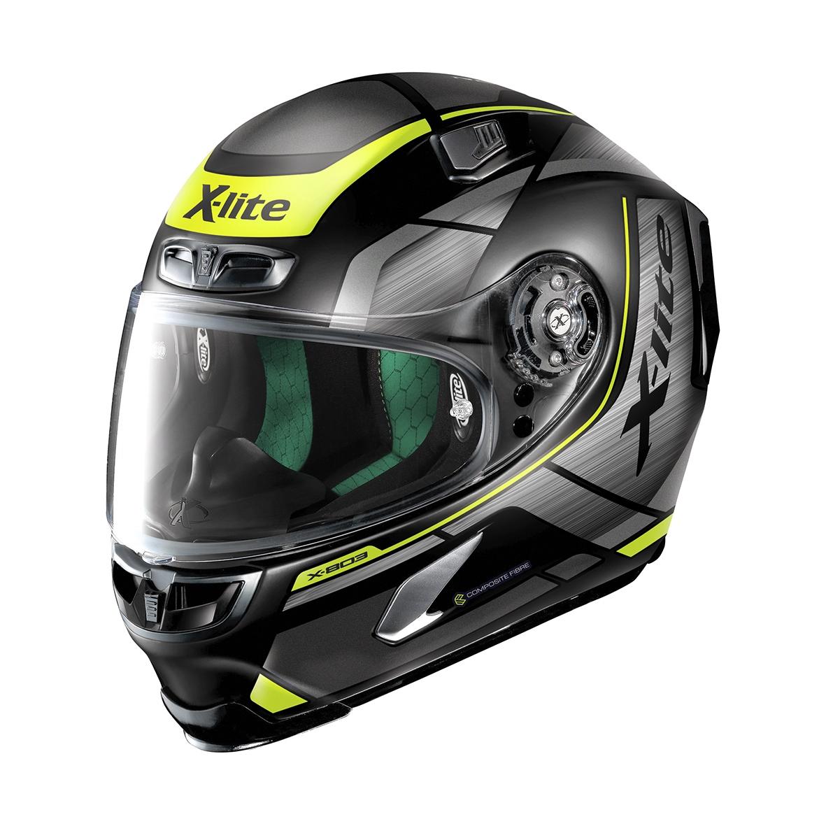 Moto helma X-Lite X-803 Agile Flat Black 37