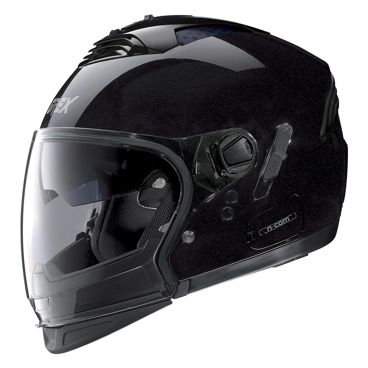 Moto helma Grex G4.2 PRO Kinetic N-Com Metal Black 21