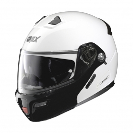 Moto helma Grex G9.1 Evolve Couple´ N-Com Metal White 20