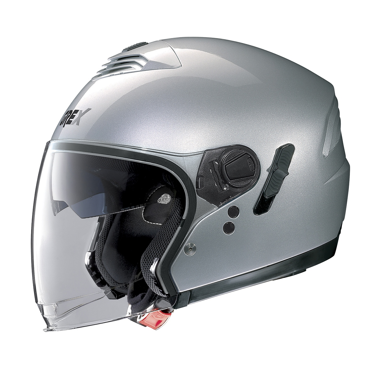 Moto helma Grex G4.1E Kinetic Silver 3