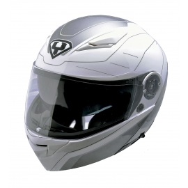 Moto helma Yohe 950-16, White, Grey