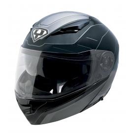 Moto helma Yohe 950-16, Black, Grey