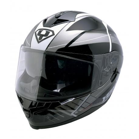 Moto helma Yohe 967-52, Black