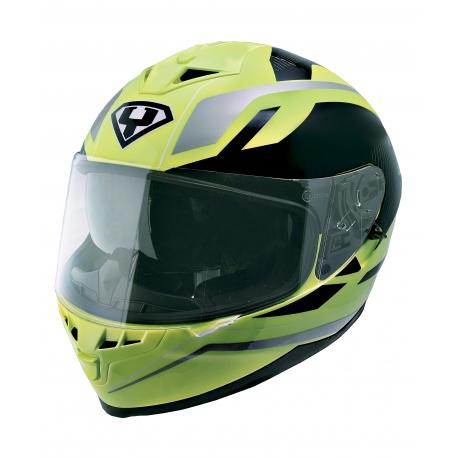 Moto helma Yohe 967, Fluo