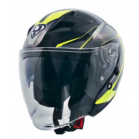 Moto helma Yohe 878-1, Fluo