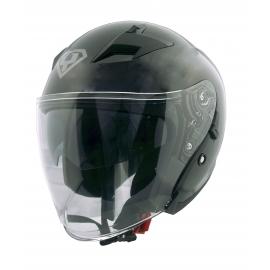 Moto helma Yohe 878-1, Black