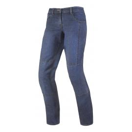 Dámské džínové moto kalhoty SPARK DESERT ROSE, modré
