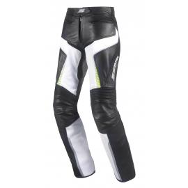Dámské kožené moto kalhoty Spark Lina, Fluo