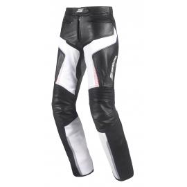 Dámské kožené moto kalhoty Spark Lina, Pink