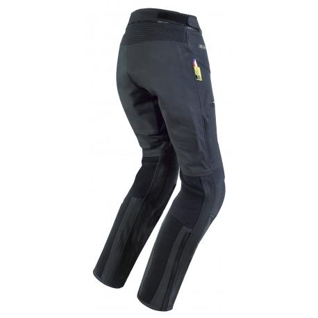 Dámské kožené moto kalhoty Spark Michelle, černé