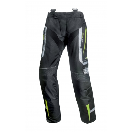 Pánské textilní moto kalhoty Spark Mizzen Fluo - 6XL