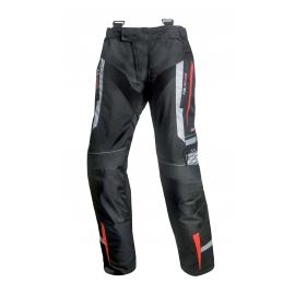 Pánské textilní moto kalhoty Spark Mizzen, červené